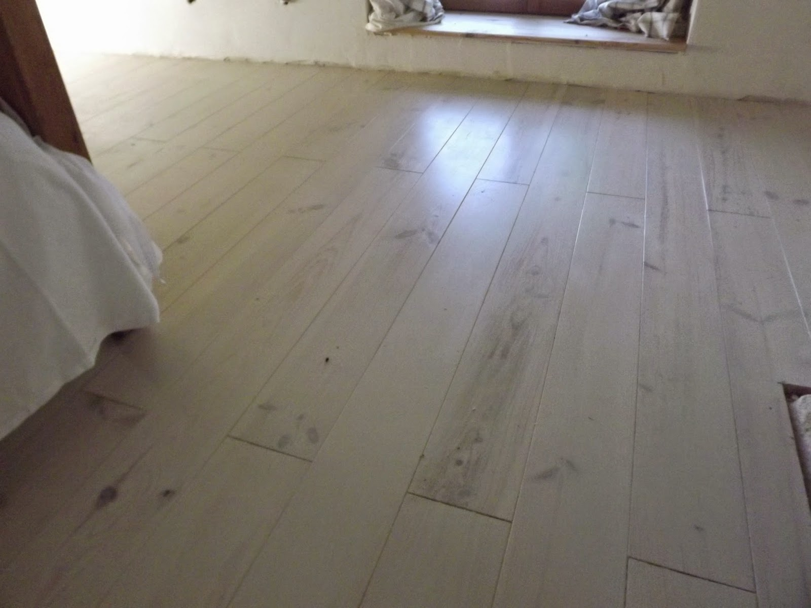 Painting Wooden Floors With Annie Sloan Chalk Paint Mon